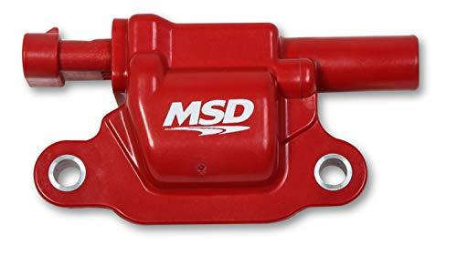 MSD 82668 Coils, Red, Square, 14 & up GM V8, 8-pk