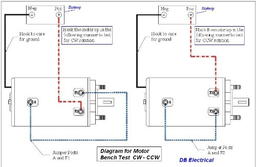41MinPcp61L amazon com db electrical lrw0001 winch motor for 12v ramsey bi 12v winch solenoid wiring diagram at gsmx.co