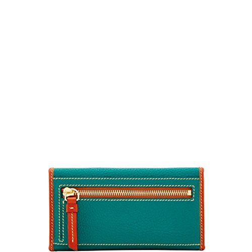 Wallet Pebble Bourke Jade Continental Grain Dooney Clutch amp; qxPwTg8Y