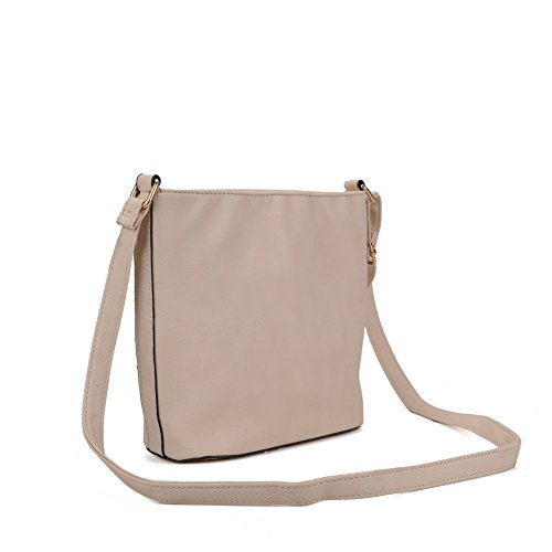 Body Designer 7 colours Cross Women SALLY YOUNG Lock Bag Beige Fashion 18nwS8YxqI