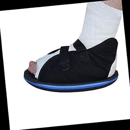 WANGPP Ortesis de Tobillo del pie aparatos ortopédicos, Fractura de pie Zapatos quirúrgicos Punta Abierta de Yeso de Zapatos for Hombres o Mujeres 11.18 (Size : 25CM)