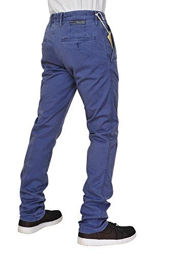 Incotex Pantaloni Uomo 29 viola / chinos normale Regular Cut R