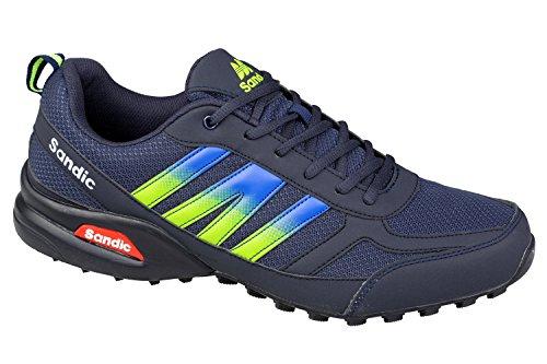 homme fonc course bleu Chaussures de pour gibra cFBgS4Zqv