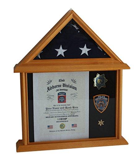 3x5 flag display case - 3