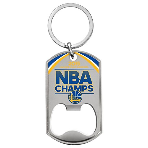Golden State Warriors 2015 Nba Champions Dog Tag Bottle Opener