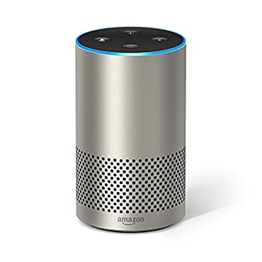 Echo 2nd Generation with improved sound, powered by Dolby (Silver)
