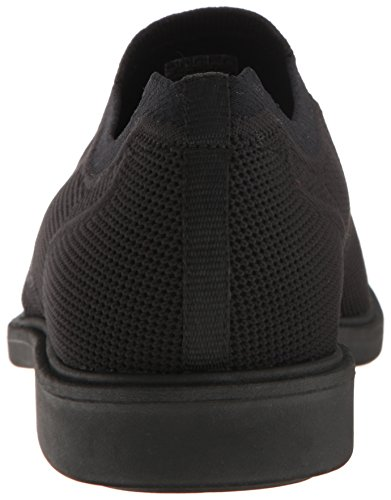 Marchio Nason Los Angeles Mens Asaway Slip-on Mocassino Nero