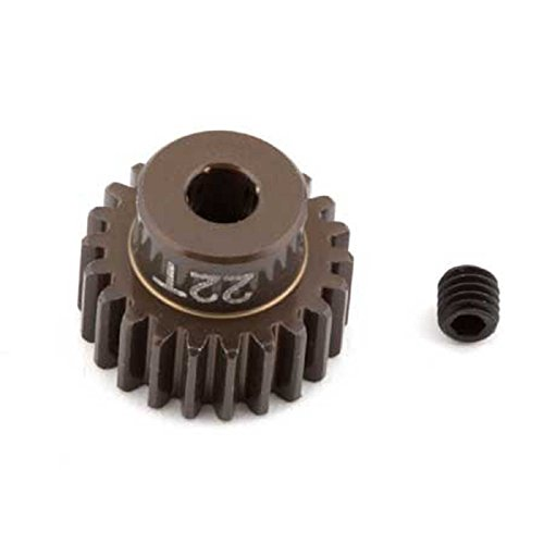 Team Associated 1340 Factory Aluminum 22T 48P 1/8 Shaft Pinion Gear