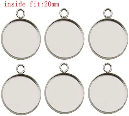 20 mm blank Black Plated Brass G15139 Black Ring Blank Settings Cabochon Mountings