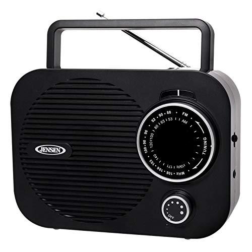 Spectra Mechandising MR-550-BK Black Portable AM/FM Radio