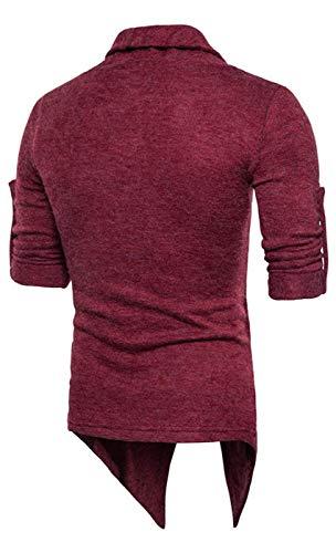 Solide Long Hip Tricot À Printemps Vêtements Confortable Haut Whiterot Cardigans Pull Hop Urban Automne Deux Basic Tailles Col En Cardigan wrrAZ7x