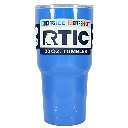 RTIC Skyline Blue Gloss 20 oz Stainless Steel Tumbler Cup