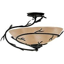 Kenroy Home 90905BRZ Twigs Semi-Flush, Bronze by Kenroy Home