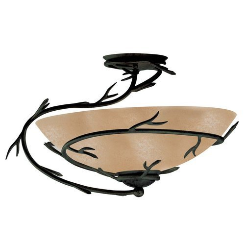Kenroy Home 90905BRZ Twigs Semi-Flush, Bronze by Kenroy Home