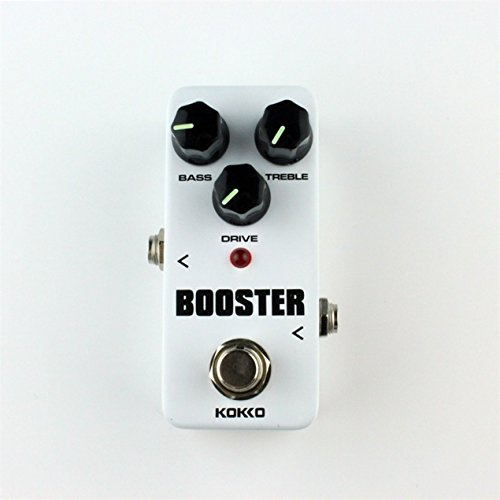 Overdrive Guitar Effect Pedal Guitarra Overdrive Booster High-Power Tube Guitar Two Segment EQ Effect Device