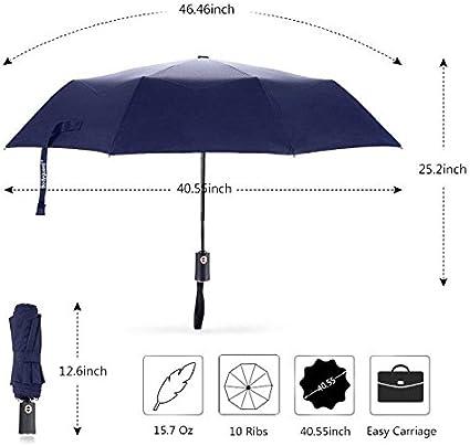 Bleu Parapluie de voyage - . Classic Bluk