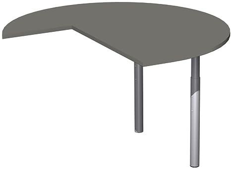 Cultivo mesa Tres cuartos circular Derecho con Estabilizadores, incluye concatenación material, altura regulable,