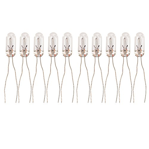 HOTSYSTEM T5-12v 95ma Car Mini Bulbs Lamps Indicator GM GMC Cluster Speedometer Backlight Lighting 10-Pack