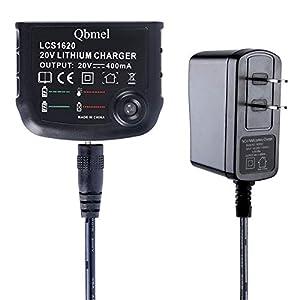 Biswaye LCS1620 20V Lithium Battery Charger for Black ...