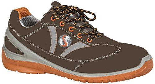 Seba 598FCE Schuh Langsame S3SRC, braun, Größe 38