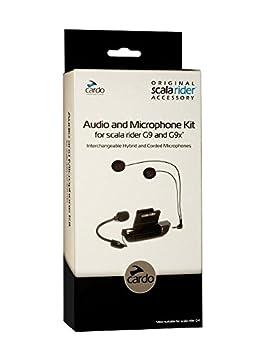 Scala Rider cardo Audio y micrófono Kit para G9 X y G9