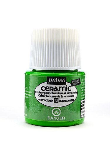 Pebeo Ceramic Air Dry China Paint victoria green 45 ml