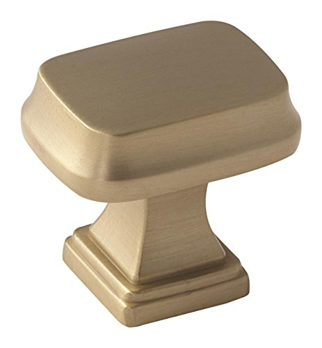 Amerock BP55340BBZ Revitalize Cabinet Knobs, 1-1/4 in (32 mm) Length, Golden Champagne (Cabinet Revitalize Pull Amerock)