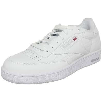 Reebok Men's Club C Classic Sneaker,White/Sheer Grey,6.5 M US
