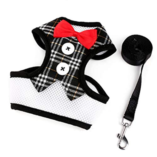 New Arrival Little Dog Harness Nylon Breathable Pup Dog Harness Vest Dog Walking Harnesses Leash Arranged For Small Dogs Kitty - Greendog Puppy Clothes
