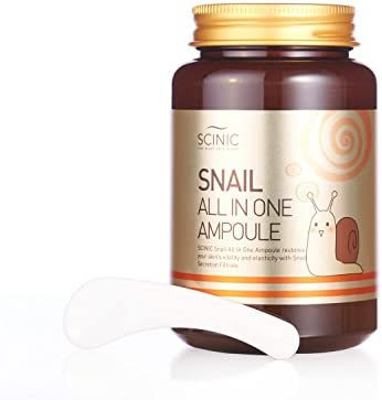 SCINIC Snail All In One Ampoule All Skin Types Women Whitening
