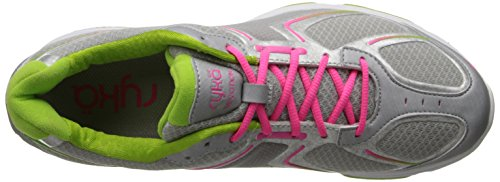 Devotion Dark Women's Grey Shoe Pink Green Light Walking Ryka F5vqpw