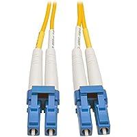 Tripp Lite Duplex Singlemode 8.3/125 Fiber Patch Cable (LC/LC), 1M (3-ft.)(N370-01M)