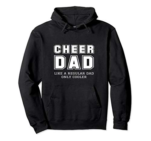 Funny Proud Cheer Dad Cheerleader Father Gift Idea Hoodie for $<!--$39.99-->