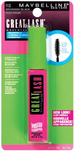 Maybelline Great Lash Mascara, brunâtre Noir