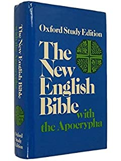 The New English Bible, the Apocrypha, Oxford University Press, 1970