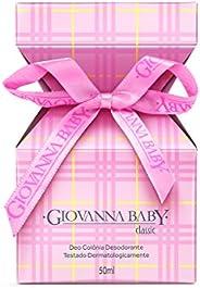 Colônia Desodorante 50 ml Rosa, GIOVANNA BABY