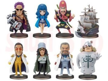 One Piece Warudokorekutaburufigyua ONE PIECE FILM Z vol.4 all eight set Banpresto Prize