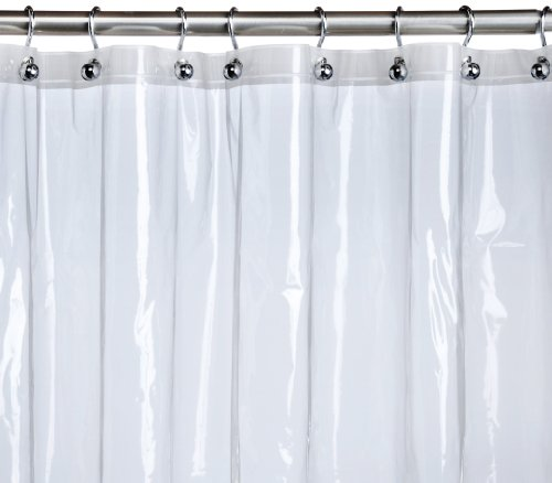 Pinzon Basics Peva Shower Curtain Liner Clear 72 X 72 Inches Buy Online In Uae Misc