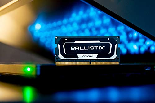 Crucial Ballistix 2666 MHz DDR4 DRAM Laptop Gaming Memory Kit 16GB (8GBx2) CL16 BL2K8G26C16S4B