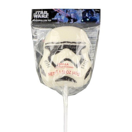 Star Wars Force Awakens Marshmallow Lollipop Candy 1.59 oz (Stormtrooper)]()
