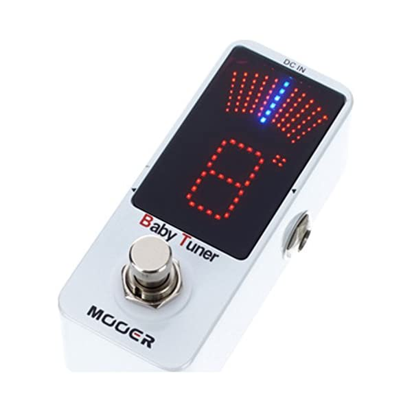 Mooer Baby Tuner Pedale Accordatore Cromatico