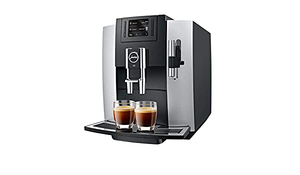 JURA E8 Independiente Máquina espresso Negro, Platino 1,9 L 16 ...