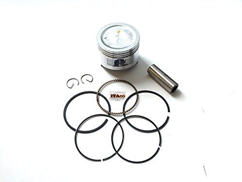 New Honda Oem Piston Ring (ITACO New Pack of Piston with Rings Kits for Honda Gx160 5.5hp)