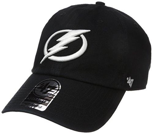 '47 NHL Tampa Bay Lightning Clean Up Adjustable Hat, One Size, Black