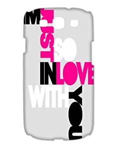 I'm In Love With You And All Your Little Things Cases Snap on Case fits Samsung Galaxy S3 I9300