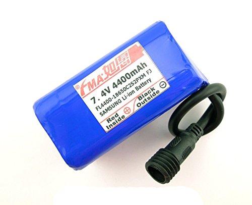 Li-Ion Battery 7.4V 4500Mah For Led Bike Light 2S2P Ur18650Aa