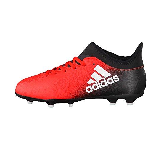 adidas X 16.3 Fg J, Botas de Fútbol para Niños Rot/Weiß
