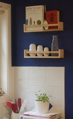 Ikea 4 Wooden Spice Rack Nursery Book Holder Kids Shelf Kitchen ...