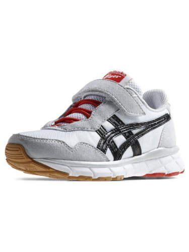 Asics - Zapatillas de deporte de cuero para niño Blanco - blanco