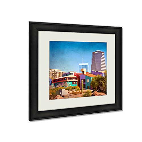 Ashley Framed Prints Downtown Tucson Arizona With La Placita, Wall Art Home Decor, Color, 26x26 (frame size), AG5450776 by Ashley Framed Prints